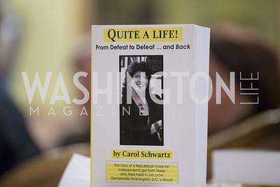 Carol Schwartz Autobiography Book Party
