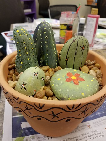 Glue Gun Gang Cacti Forever September 2018