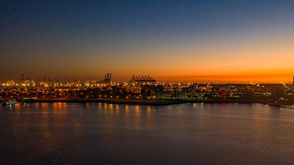 Long Beach by Drone