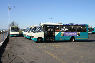 Arriva Scotland West Inchinnan Depot