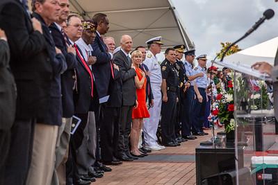 5-28-18 Jacksonville  Veterans Memorial Wall Event