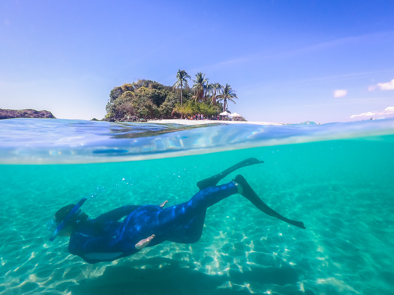 Snorkeling - Central America Cruise