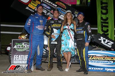 Weedsport Speedway - All Star Sprints - 6/10/18 - Michael Fry
