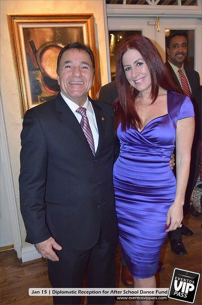Diplomatic Reception for After School Dance Fund @ Embajada de Panamá   Tue, Jan 15