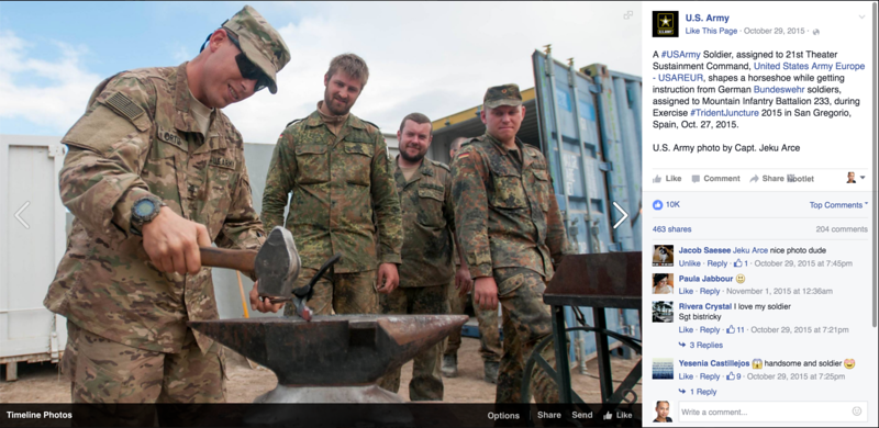 Official U.S. Army Facebook Page