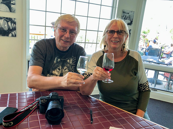 Watkins Glen, New York State. Travel, Food and Wine - October, 2020