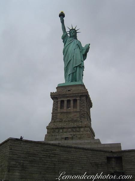 New-York : La statue de la Liberté