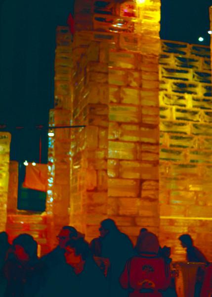 1976-01 - St Paul Winter Carnival ice castle