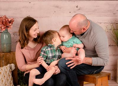 Hagen Family Lucas One Year