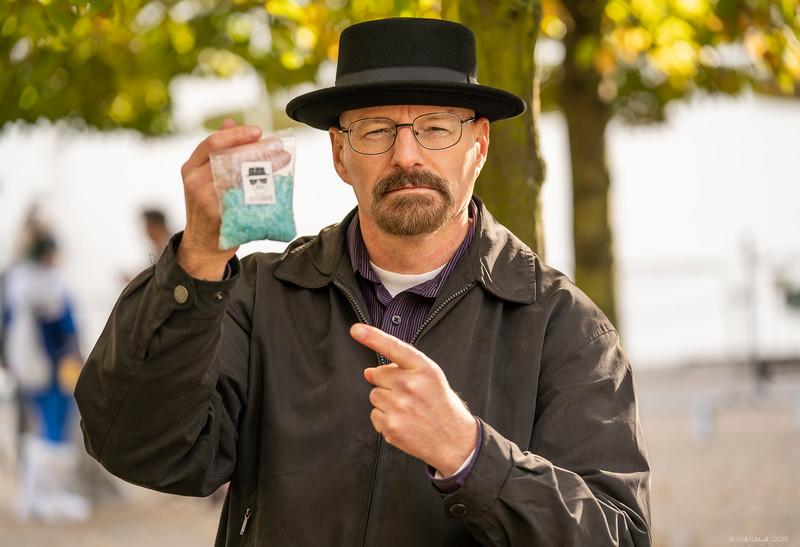 Lee Nichols as Heisenberg - MCM London Comic Con - 28th October 2018
