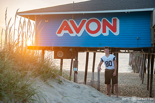 Dylan, Senior Portraits, Avon Pier, Avon, North Carolina, Epic Shutter Photography, Outer Banks Photographers, Cape Hatteras Photographers, OBX Photographers, Hatteras Island Photographers,  Senior Portraits, Sunrise