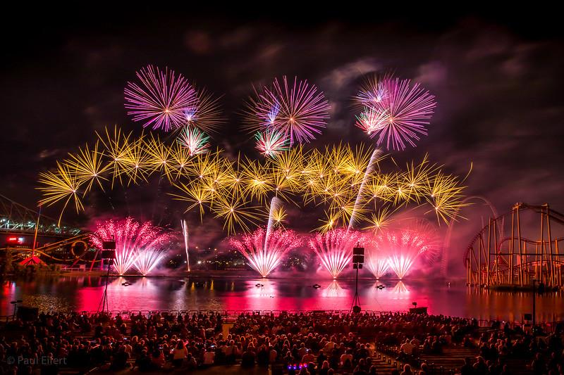 Fireworks at La Ronde - July 26, 2017