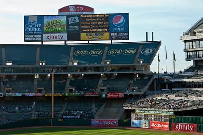 Baseball-A's Vs Padres