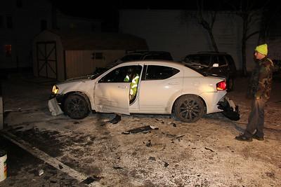 Motor Vehicle Accident, Center Street, Shenandoah (12-27-2013)