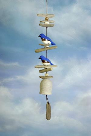 Wind bells by Hazel Olsen