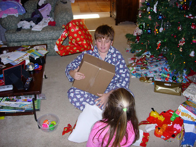 Christmas Eve Present Opening
