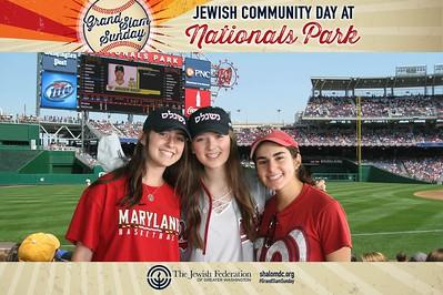 The Jewish Federation of Greater Washington's Grand Slam Sunday 2018