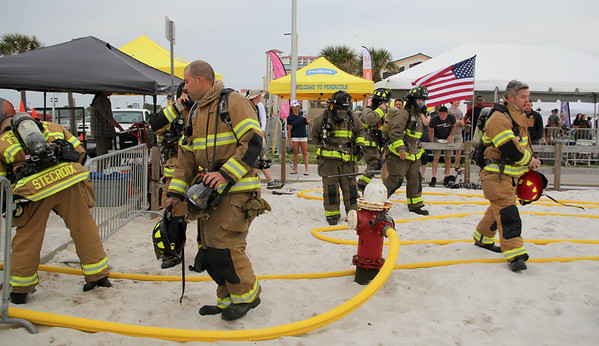 2019 Pensacola Beach Fire fighter's Challenge  (Saturday)