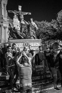 Procession  in Modica (Sicily)