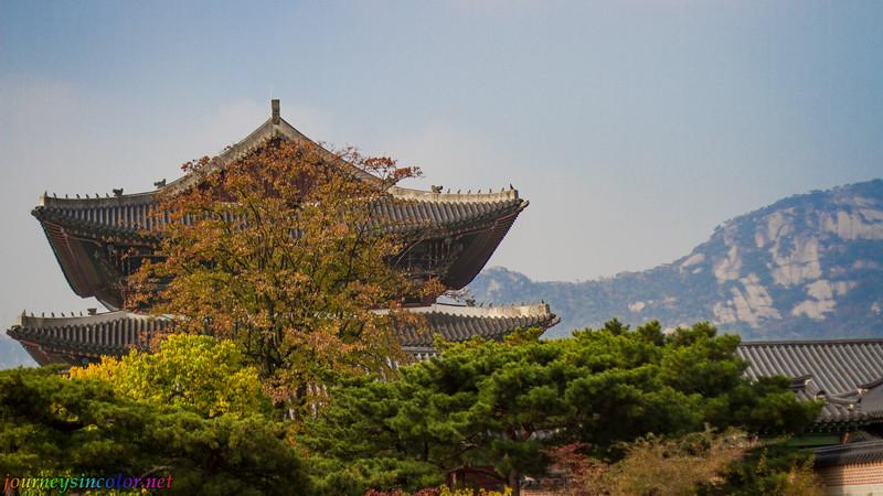 Pagoda in Seoul, Korea