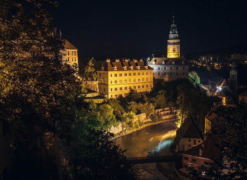 Castle in Český Krumlov