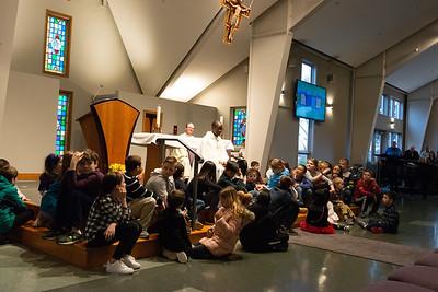 2020 Feb 2 - Children, St. Blasé, and Hunger Banquet