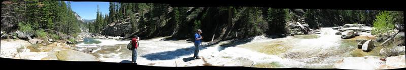 Illoutette Falls Panoramic
