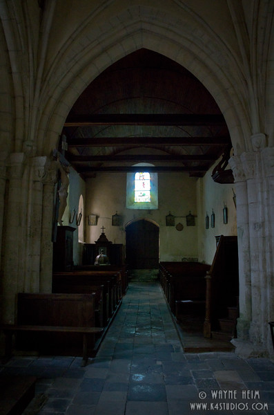Church in Normandy 2   Photography by Wayne Heim