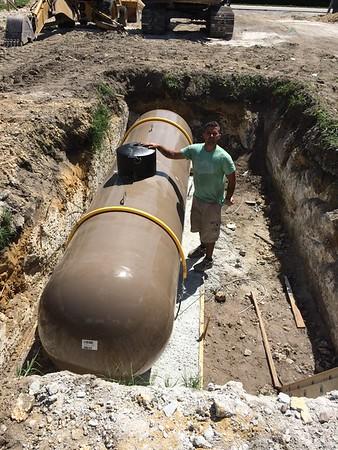 1000 gallon underground tank. Miami, FL