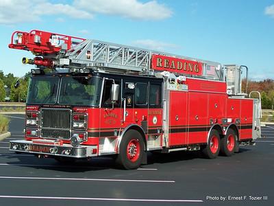 Reading, MA Fire Apparatus