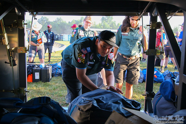 You Have Arrived at the National Scout Jamboree