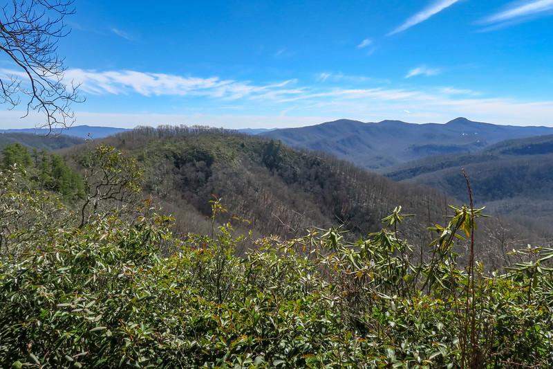 Bennett Gap Trail @ Upper Overlook -- 3,520'