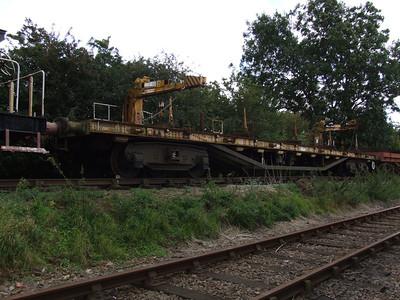 YFB 'Salmon' - Bogie Rail Mounted Crane Wagon