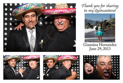 Giannina's Quinceañera Photo Booth