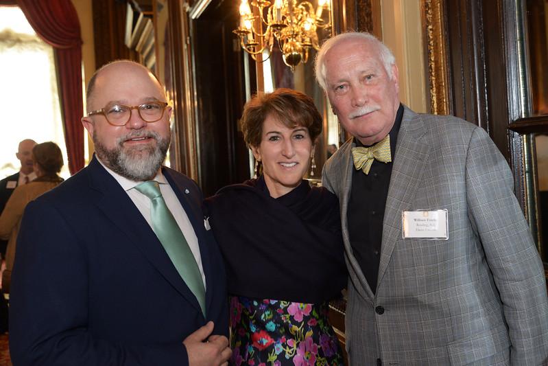 Brenton Simons, Stacy Schiff, and Bill Fowler