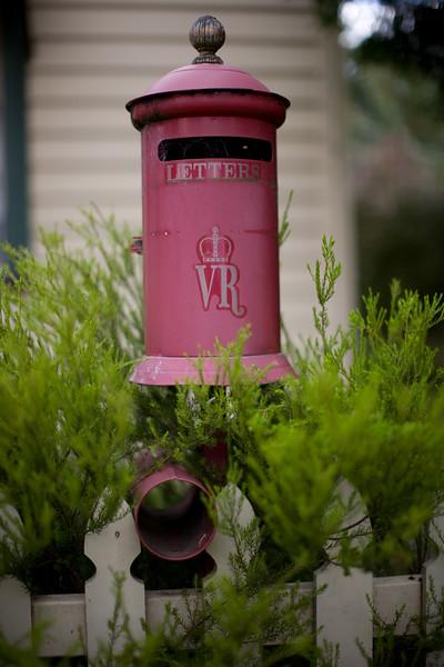 Victorian letter box