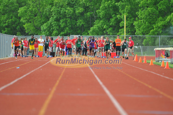 100 Meter Finals - 2012 Oakland County Track Meet