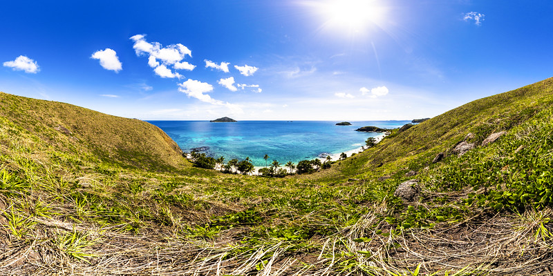 View to Paradise Beach - Yasawa - Fiji Islands