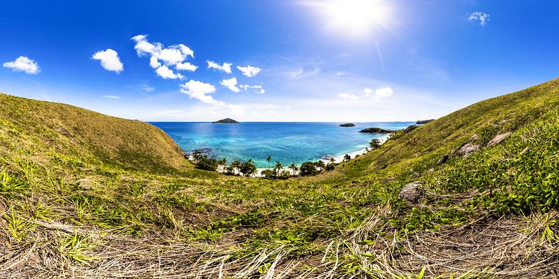 View to Paradise Beach - Yasawa - Fiji Islands
