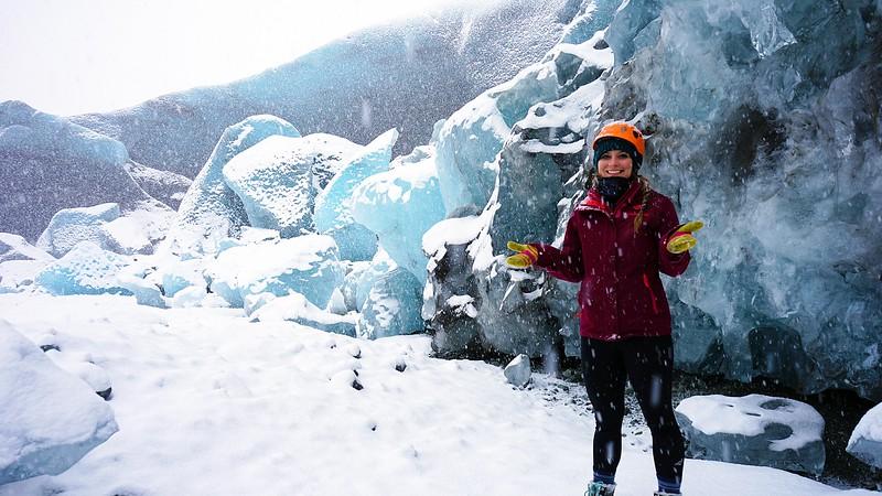 Ashlyn George Ice Caves Photo