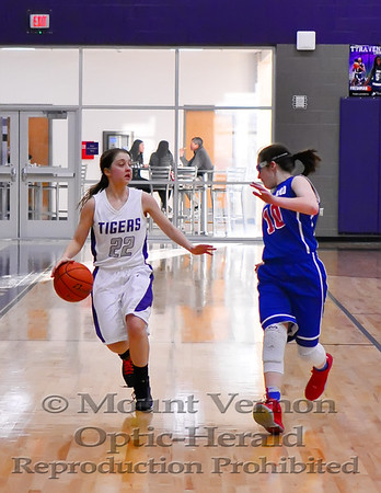 2016 JV Lady Tigers vs Prairiland Lady Patriots 1/27/2017