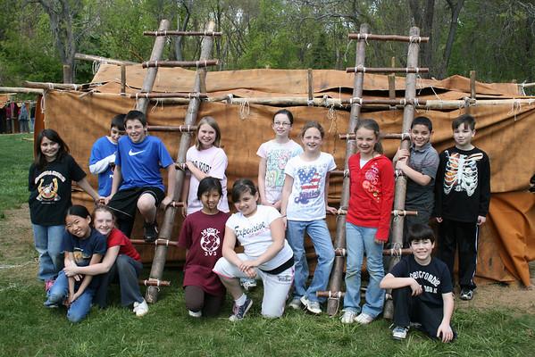 2010 LRS Spring Lenape Long House
