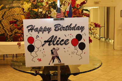 Alice Robinson's 60th BD Celebration