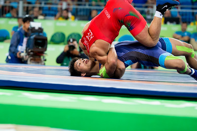 Greco Roman Wrestling: other action.
