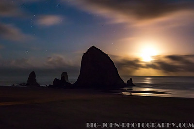 Cannon Beach, Ecola State Park & Haystack Rock, Oregon Fall 2015