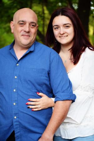 Ashley & Jim engagement pics