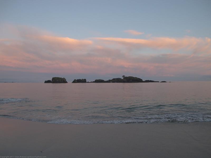 Sunset at Jakobsen Point.