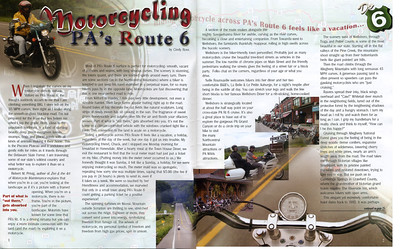 Route 6 Magazine- Motorcycling PA's Route 6