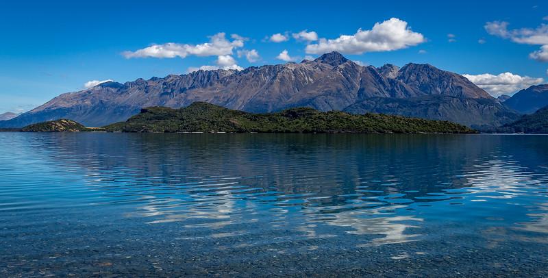 Spiegelungen am «Lake Wakatipu»
