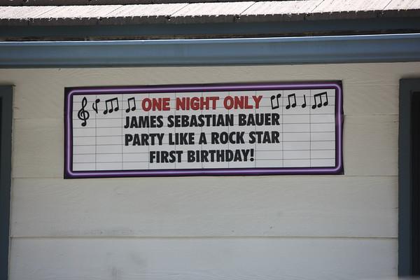 James Bauer's 1st Birthday